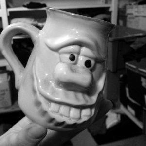 hymiönaama kahvikuppi