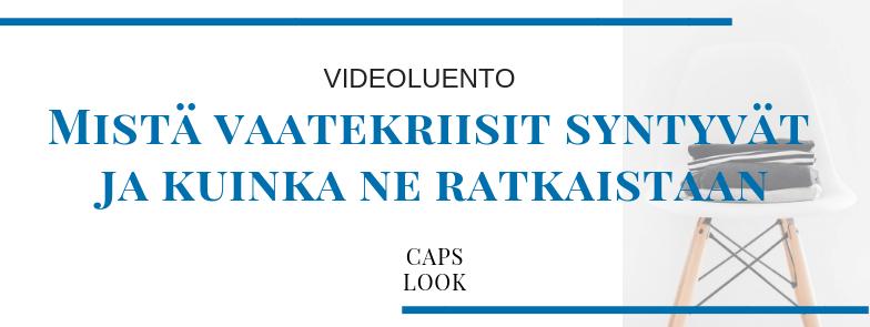 Videoluento Caps Look