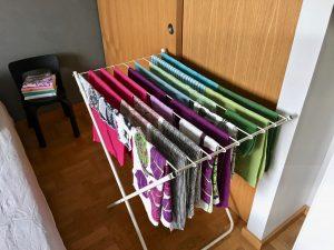 pyykkien kuivaus